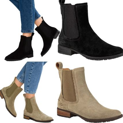 2f5703b4fe1 UGG Australia 2018-19AW Suede Plain Ankle & Booties Boots