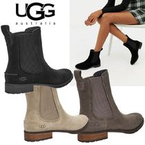 UGG Australia Suede Plain Ankle & Booties Boots