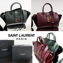 Saint Laurent DOWNTOWN 2WAY Elegant Style Shoulder Bags