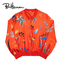Ron Herman Short Tropical Patterns Casual Style Unisex