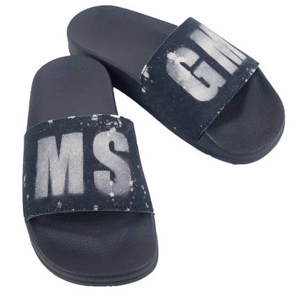 Casual Style Street Style Plain Shower Shoes Flat Sandals
