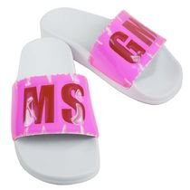 MSGM Casual Style Street Style Plain Shower Shoes Flat Sandals