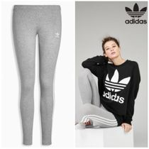 adidas Street Style Plain Cotton Leggings Pants