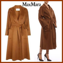 MaxMara LABBRO Cashmere Plain Long Oversized Wrap Coats