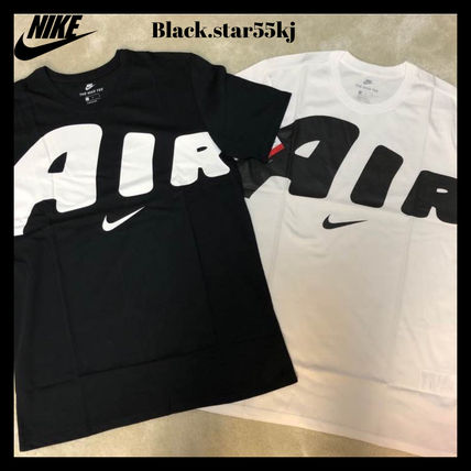 Nike More T-Shirts Unisex Street Style Plain Short Sleeves T-Shirts