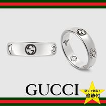 GUCCI Casual Style Street Style Rings