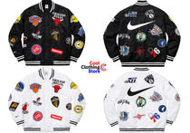 Supreme Unisex Street Style Collaboration MA-1 Bomber Jackets