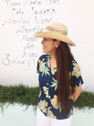 Tropical Patterns Casual Style Short Sleeves