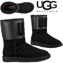 UGG Australia CLASSIC SHORT Casual Style Street Style Plain Flat Boots
