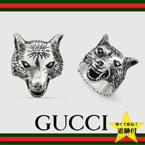 GUCCI Street Style Metal Rings
