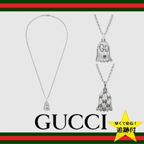 GUCCI Gucci Ghost Street Style Silver Necklaces & Chokers