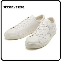 CONVERSE ALL STAR Star Street Style Leather Sneakers
