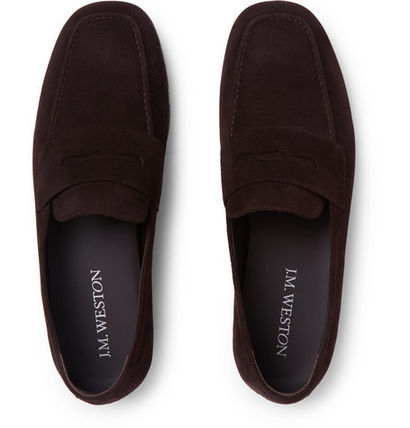Loafers Suede Loafers & Slip-ons