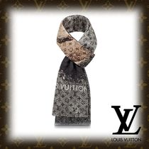 Louis Vuitton MONOGRAM Monogram Cashmere Fringes Accessories