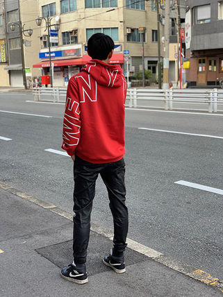 Hoodies Unisex Street Style Long Sleeves Cotton Oversized 3
