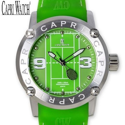 Casual Style Silicon Round Analog Watches