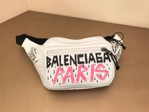 BALENCIAGA EVERYDAY TOTE BALENCIAGA EXPLORER BELT PACK GRAFFITI Lambskin