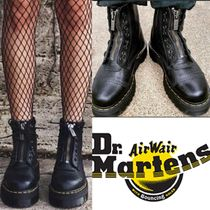 Dr Martens Platform Mountain Boots Round Toe Casual Style Unisex