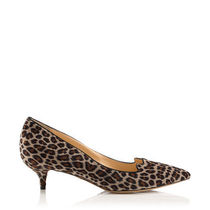Charlotte Olympia Leopard Patterns Velvet Office Style Pumps & Mules