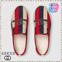 GUCCI Sylvie Leather Sneakers