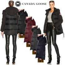 CANADA GOOSE Plain Medium Down Jackets