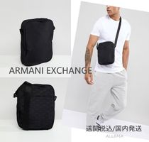 A/X Armani Exchange Canvas Street Style Messenger & Shoulder Bags
