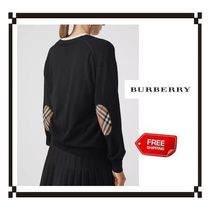 Burberry Casual Style Wool Plain Cardigans