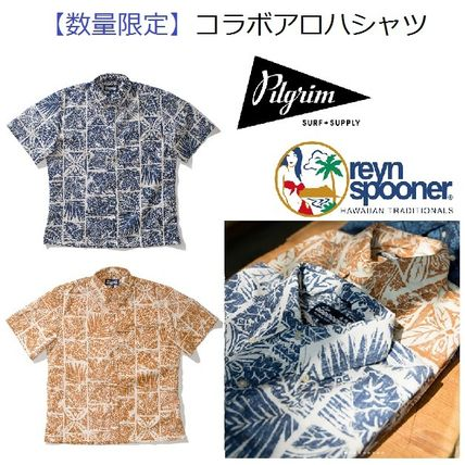 Tropical Patterns Collaboration Cotton Short Sleeves