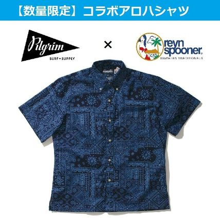 Paisley Tropical Patterns Collaboration Cotton Short Sleeves