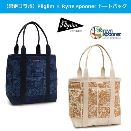 Paisley Tropical Patterns Canvas Collaboration Totes