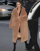 MaxMara Plain Long Oversized Elegant Style Wrap Coats