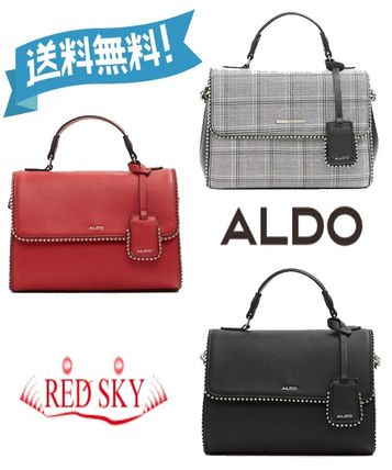 Aldo Handbags Monoglam Casual Style 2way Plain