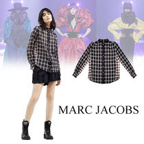 MARC JACOBS Other Check Patterns Casual Style Long Sleeves Cotton Medium