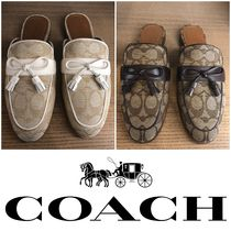 Coach Casual Style Loafer Pumps & Mules