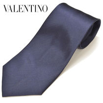 VALENTINO Silk Plain Ties