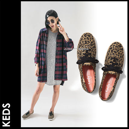 Leopard Patterns Casual Style Sandals