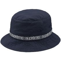 Supreme Street Style Bucket Hats Wide-brimmed Hats
