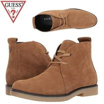 Guess Suede Street Style Plain Chukkas Boots