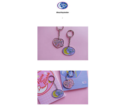Heart Casual Style Chain Other Animal Patterns Accessories