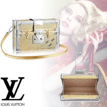 Louis Vuitton EPI 2WAY Plain Leather Elegant Style Handbags