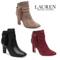 Ralph Lauren Leather Ankle & Booties Boots