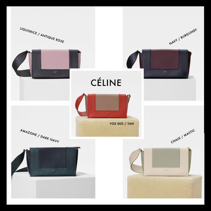 6156075a5e18 CELINE Frame 2018-19AW Women s Navy Bags Luxury Brand Bag  Shop ...
