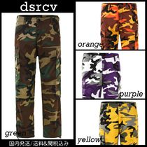 dsrcv Printed Pants Camouflage Street Style Patterned Pants