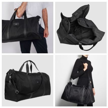 Casual Style Nylon A4 3WAY Shoulder Bags