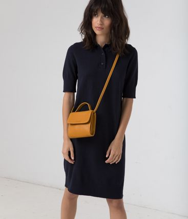 Casual Style 2WAY Plain Bold Shoulder Bags