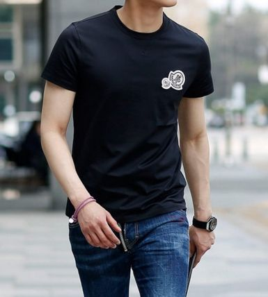 MONCLER More T-Shirts Street Style Cotton T-Shirts