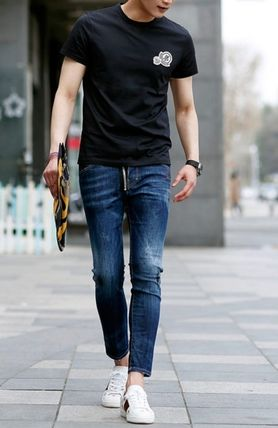 MONCLER More T-Shirts Street Style Cotton T-Shirts 2