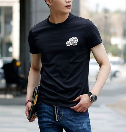 MONCLER More T-Shirts Street Style Cotton T-Shirts 7