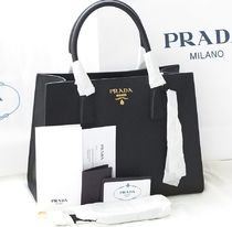 PRADA SAFFIANO LUX Saffiano 2WAY Plain Handmade Home Party Ideas Elegant Style