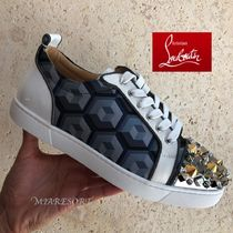 Christian Louboutin LOUIS Blended Fabrics Sneakers
